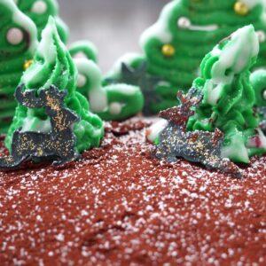 Weihnachtsbaumkuchen