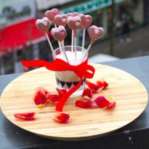 Cakepop Valentinstag